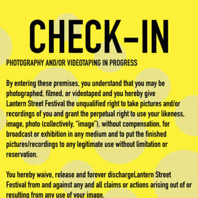 Check In Poster