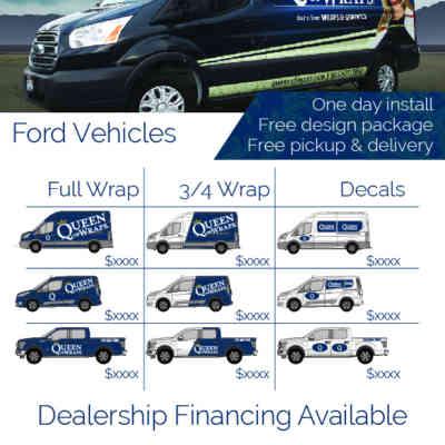 Fleet Wrap Sheet Ford
